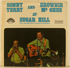 "SONNY TERRY BROWNIE Mc GHEE at SUGAR HILL   12"" LP ( h104)"