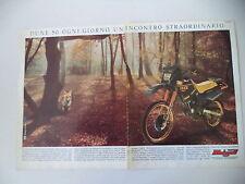 advertising Pubblicità 1987 MOTO MALAGUTI DUNE 50