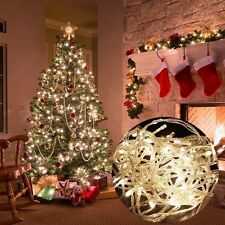 33ft 100 LED 12v Wedding Curtain Xmas Party Decor Outdoor 10M Fairy String Light