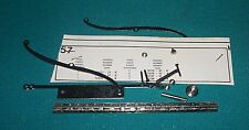1932 Rolls Royce Phantom II Sedanca Coupe Pocher 1/8 Bag 57 Hood Hinge Mouldings