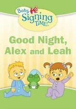 Good Night, Alex and Leah (Baby Signing Time!)-ExLibrary