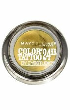 Maybelline Color Tattoo 24 Hour Cream Eyeshadow, Gold Rush
