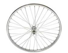"BICYCLE FRONT WHEEL  24"" x 1.75 STEEL CHROME BEACH CRUISER LOWRIDER BMX NEW!"