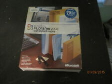 Microsoft Office Publisher 2003 with Digital Imaging Windows 2000/XP