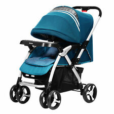 NEW Baby Stroller Shock-proof Comfy Infant Pram Folding Carriage Pushchair