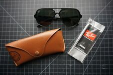 Ray-Ban RB4125 Black 601 Cats 5000 100% UV 59mm Lenses Sunglasses