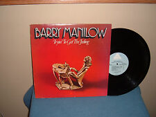 """BARRY MANILOW:  TRYIN TO GET THE FEELING        12""""     33 RPM      LP"""