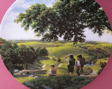WEDGWOOD GREEN HILL COUNTRY PLATE THE LORD OF THE RINGS TED NASMITH WEDGWOOD