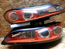 JDM NISSAN SILVIA S15 240SX SR20DET RED HOUSING CCFL HID HEADLIGHT RARE ITEM OEM