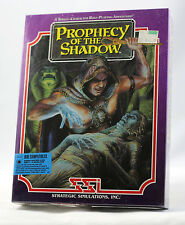 Vintage SSI Prophecy of the Shadow Big Box SEALED MINT PRISTINE - Rare - NEW