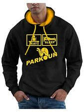 Eat Sleep Parkour Hoodie Freerunning