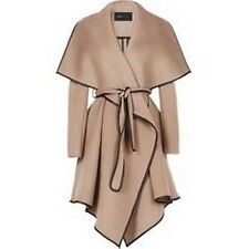 NWT BCBG Cameron Wrapped Trench Women Coat Taupe M Style 12158 BM $398.00