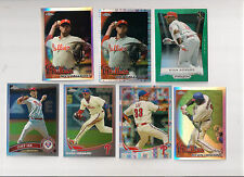 2010 TOPPS CHROME PHILLIES ROY HALLADAY REFRACTOR  PARALLEL CARD #64