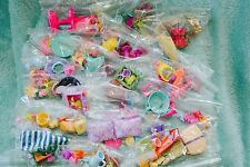 Littlest pet shop, my little pony,and shopkin accessories, pack of 10 each
