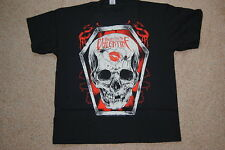 BULLET FOR MY VALENTINE SKULL KISS T SHIRT XL NEW OFFICIAL BFMV FEVER POISON