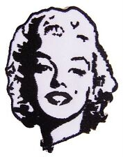 New Marilyn Monroe embroidered iron on patch. (2.75 x 3.25 inch) i100