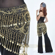 Classical Tribal 150 coins Beaded Hip Scarf Belt Belly Dance Costumes
