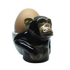 Eierbecher AFFE  aus handbemalter Keramik