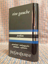 Vintage 80s Rive Gauche 1/4 oz 7.5 ml Pure Parfum Yves Saint Laurent OLD FORMULA