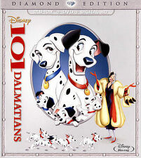 Disney 101 Dalmatians (Blu-ray/DVD, Diamond Edition) Ships Within 24 Hours