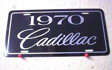 1970 Cadillac license plate tag 70 Caddy Eldorado Coupe DeVille Sedan Fleetwood