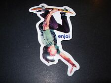 "ENJOI Skate Skater #6 Sticker 4 X 2.5"" great for skateboards helmets decal"