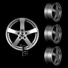 4x 16 Zoll Alufelgen für Opel Zafira / Dezent RE 6,5x16 ET37 (B-3401090)
