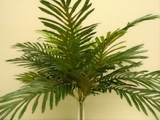 "Palm Bush 24 Leaves Artificial Silk 24"" Plant Greenery GB5602GR"