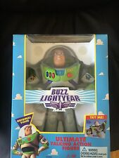 "RARE ORIGINAL 12"" 1995 BUZZ LIGHTYEAR TOY STORY Talking Figure UNOPENED THINKWAY"