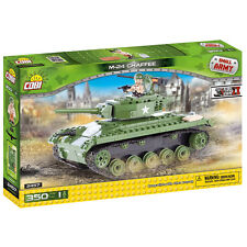 COBI small army WW2 M24 CHAFFEE Tank 350 pcs construction blocks bricks #2457