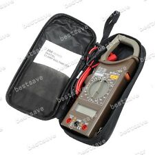 MASTECH M266C Digital Clamp Meter AC DC Voltage ACA Resistance Temp Tester B0306
