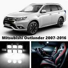 9pcs LED Xenon White Light Interior Package Kit for Mitsubishi Outlander