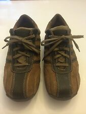DAY FIVE SONIC BOY'S Size 5 M Brown Style #530039 Athletic Sneakers Shoes