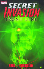 Secret Invasion: Frontline TPB Marvel Comics 2009 (#1-5) Avengers Brian Reed