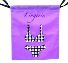 (New) Jet Set Travel Lingerie Bag - Great for travel or everyday use.