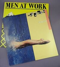Men at Work – Business as Usual & Two Hearts, Original Vinyl LPs,