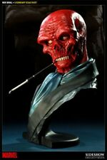 Sideshow Collectibles Red Skull RARE Legendary 1/2 Bust statue captain america