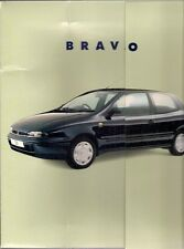 Fiat Bravo & Brava 1996 UK Market Large Format Presentation Sales Brochure