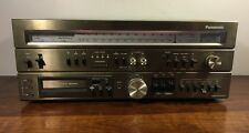 Vintage Panasonic RA-7600 Receiver 8 Track Player Recorder 80's Works Am/Fm Rare