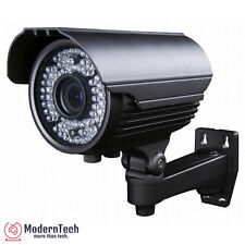 "1000TVL Bullet Security Camera 960H CCTV Tube 1/3"" VandalProof 72 IR LEDs Gray"
