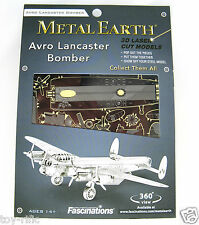 METAL EARTH AVRO LANCASTER BOMBER 3D METAL MODEL KIT - BRAND NEW & SEALED!!