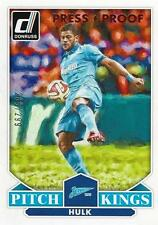 2015 Donruss Soccer 'Pitch Kings' #11 Hulk Bronze Press Proof 286/299 Zenit