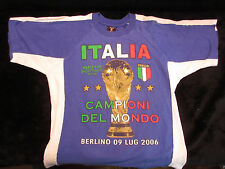 2006 Berlin Germany World Cup t Shirt Italy Italia Championi del Mondo estate 28