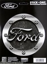 ford truck car auto sticker decal powerstroke logo gas fuel cap rivet mustang gt