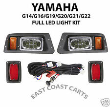 Yamaha G14-G22 Golf Cart Adjustable LED LIGHT KIT,  LED Head & LED Tail Lights