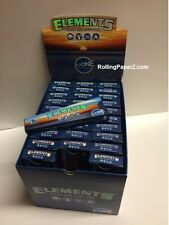 Box of 30 packs 1 1/4 ELEMENTS PREROLLED RICE PAPER =180 CONES rolling paper