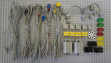 All Electric Parts & Their Accessories from Vintage Lego Dacta Set 9700
