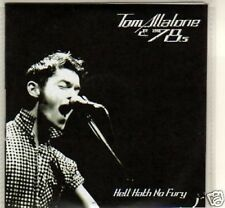 (M24) Tom Malone & The 78s, Hell Hath No Fury - DJ CD