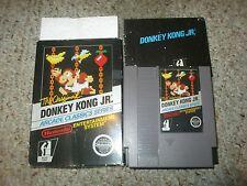 Donkey Kong Arcade JR Classics Arcade (Nintendo NES, 1986) Complete in Box GOOD