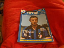 CALCIO  RIVISTA  INTER   FOOTBALL  CLUB  NR 11  NOVEMBRE 1980 CON  POSTER MURARO
